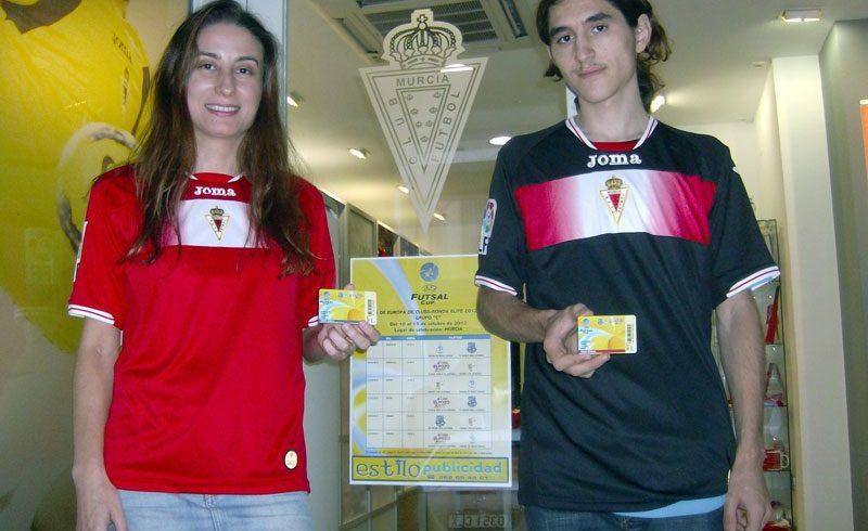 El Real Murcia CF apoya a ElPozo Murcia FS con la venta de Abonos Ronda Élite-UEFA Futsal Cup