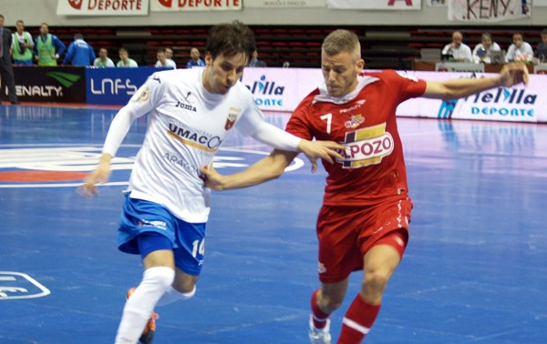 ElPozo Murcia regresa a la competición liguera con un contundente 0-5 ante Umacon Zaragoza