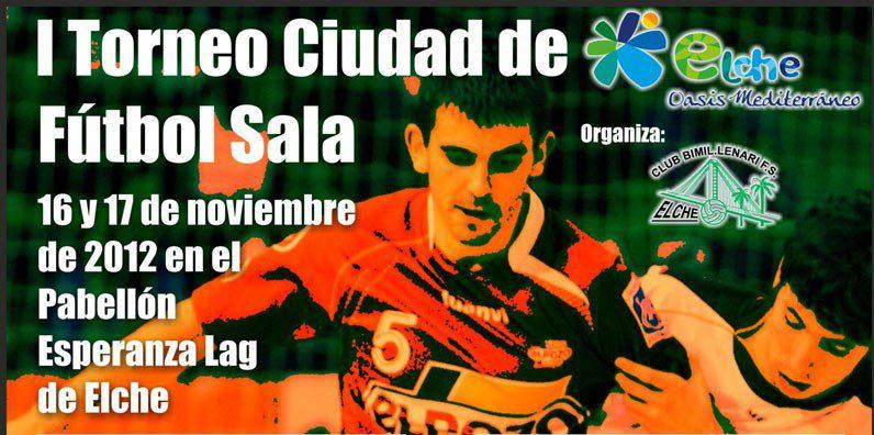 ElPozo Murcia FS disputará el I Torneo Ciudad de Elche ante Bimil-lenari ilicitano, Puertollano y              Arenas Gáldar de Gran Canaria
