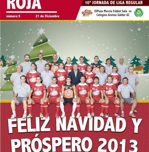 Marea Roja nº5 2012-2013
