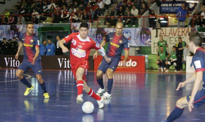 ElPozo Murcia, finalista de la Copa de España 2013. Orgullosos de este equipo y su afición.