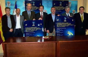 Presentación del Campeonato de Europa de Fútbol Sala