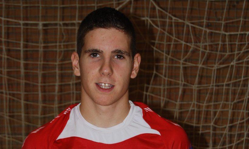 Fernan, de ElPozo Ciudad de Murcia, recibe la la llamada de la selección sub'18
