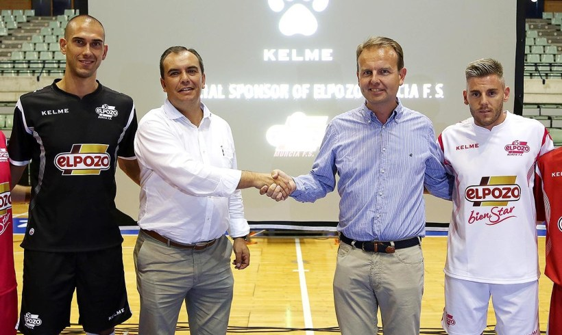 KELME vestirá a ElPozo Murcia FS las próximas cuatro temporadas