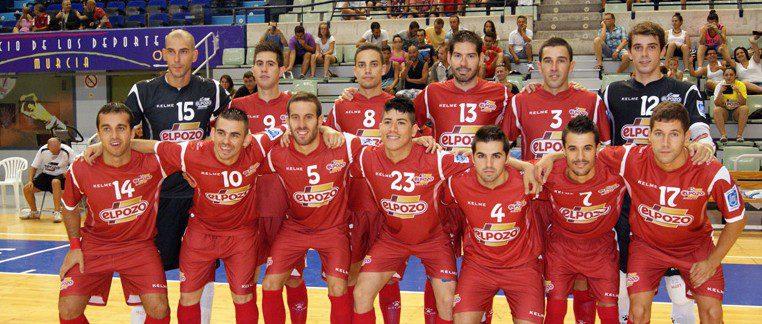 ElPozo Murcia FS empata 4-4 ante Plásticos Romero Cartagena en su primer amistoso