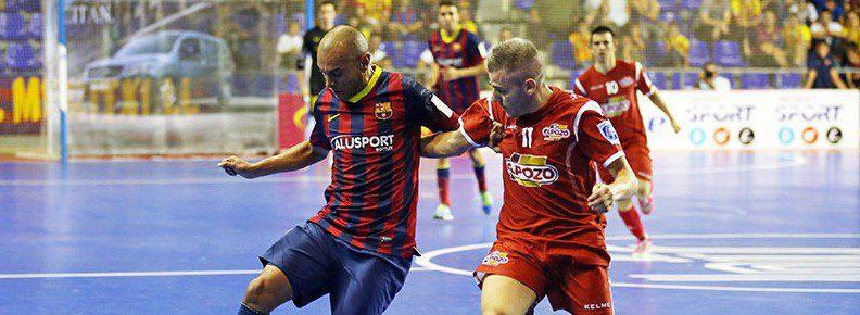 La suerte no acompaña a ElPozo Murcia en el Palau (2-1)