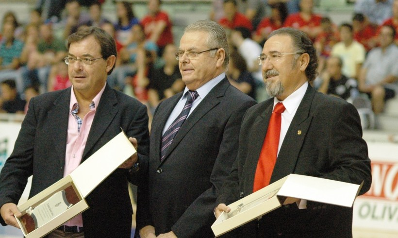 Homenaje a los expresidentes Eloy Jiménez y Manolo García