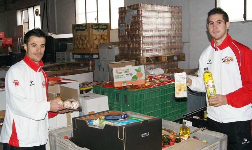 ElPozo Murcia colaborará con el Banco de Alimentos del Segura en el partido ante Marfil Santa Coloma
