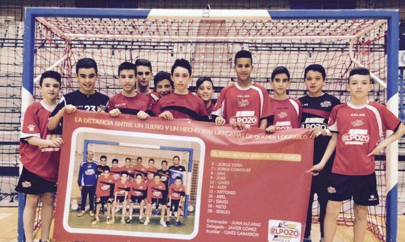 El equipo Infantil ElPozo FS a por la Minicopa