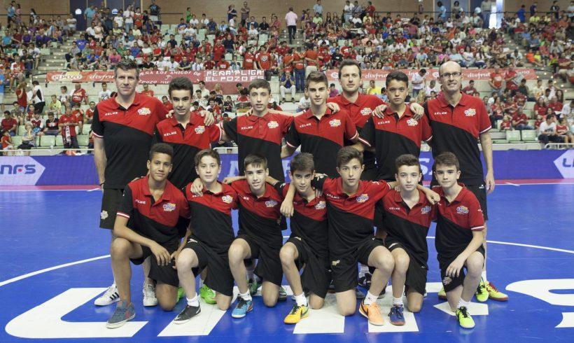 Homenaje al equipo Infantil ElPozo FS. 2º Partido Semifinales