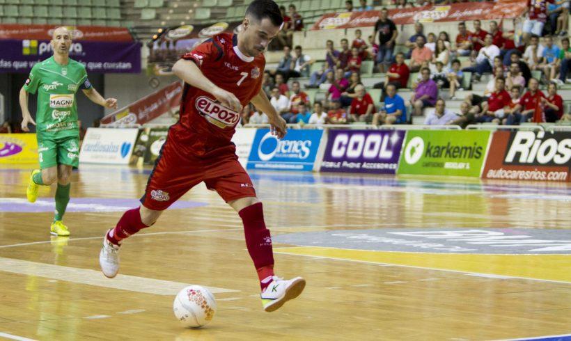 OFICIAL-Juampi seguirá vistiendo la camiseta de ElPozo Murcia FS