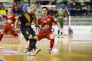 spain, Murcia, 04-02-2015, Copa S.M El Rey 2014/15, Semifinal, (vuelta), encuentro entre el Pozo Murcia F.S VS Marfil Santa coloma, Palacio de los Deportes de Murcia.