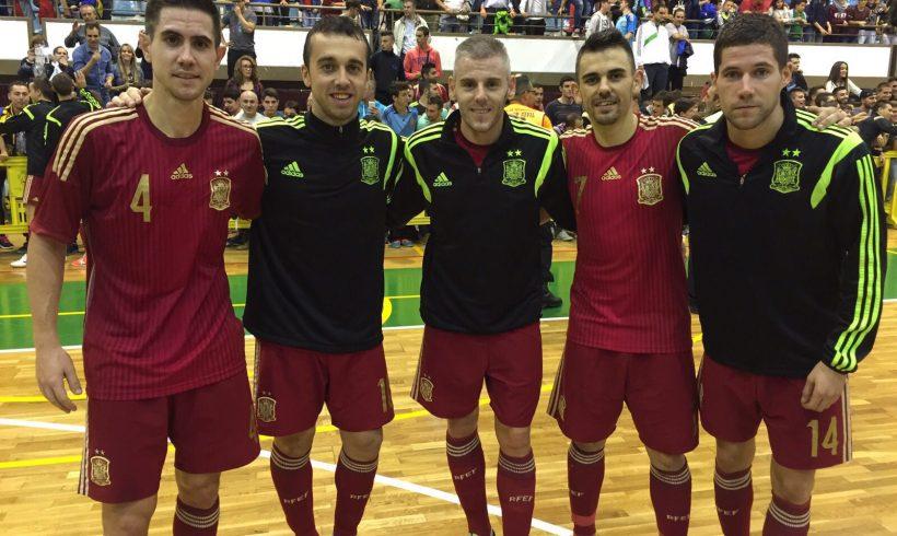 Cinco jugadores convocados con España para el Pre-Mundial en Holanda