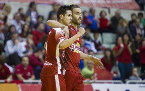 Murcia, 27-11-2015, LNFS, Campeonato Primera Division Futbol Sala, encuentro entre ElPozo Murcia vs CD Burela, Liga Regular, Jornada 13, Palacio de los Deportes de Murcia, Temporada 2015-2016.