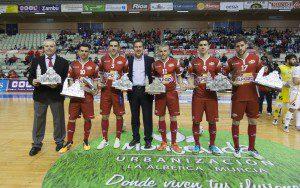 Murcia, 23-02-2016, VI Copa del Rey de Futbol Sala, Semifinales vuelta, encuentro entre ELPOZO MURCIA vs ASPIL VIDAL RIBERA NAVARRA, Palacio de los deportes de Murcia,