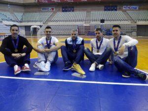 Los 5 Campeones Europa de ElPozo Murcia FS
