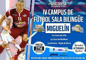 Cartel IV Campus Miguelin