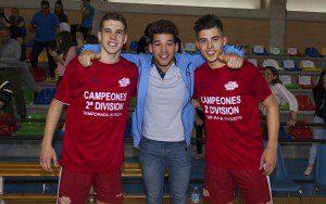 Murcia, 17-04-2016, CAmpeonato de Liga  2 Division Futbol-Sala, encuentro entre ElPozo Ciudad vs Cartagena FS, Pabellon Cajigal, Temporada 2015-2016.