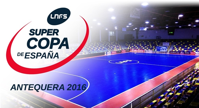 SUPERCOPA ESPAÑA 2016| ElPozo Murcia vs Movistar Inter, sábado 8 de Octubre en Antequera