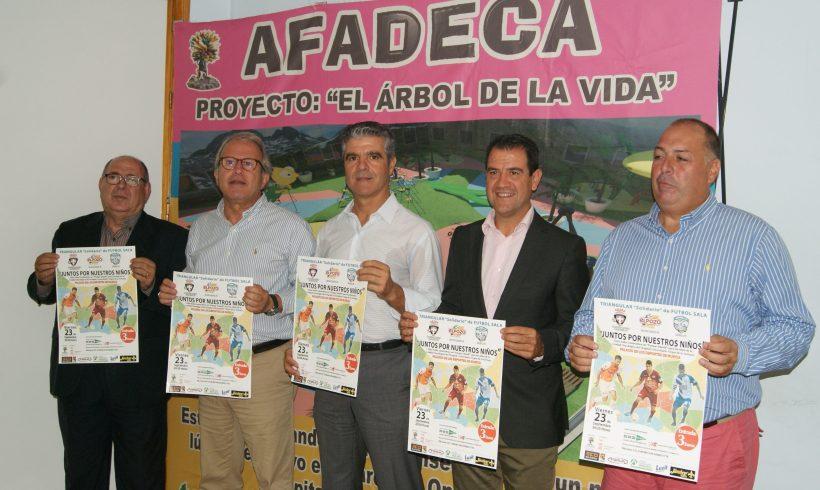 ACTO|Presentación del Triangular Solidario por Afadeca con ElPozo Murcia, Jumilla y Plásticos Romero Cartagena en Primera