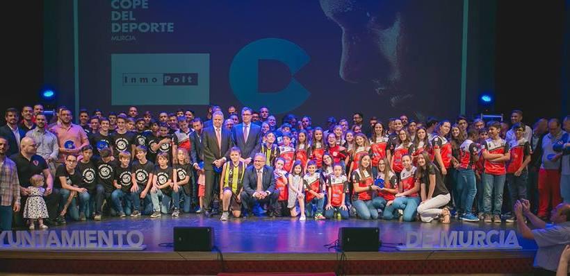 PREMIOS| ElPozo Murcia FS distinguido en la VI Gala Cope del Deporte