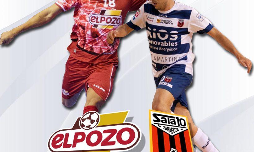 3ª Jornada LNFS| ElPozo Murcia FS vs Ríos Renovables Zaragoza este viernes en el Palacio 21 H