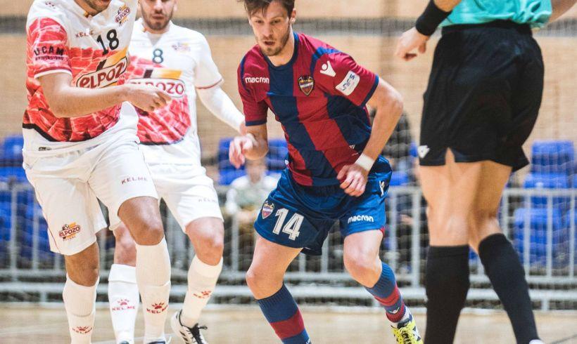 CRÓNICA Jº 22| ElPozo Murcia y Levante vuelven a empatar en un partido de máxima intensidad
