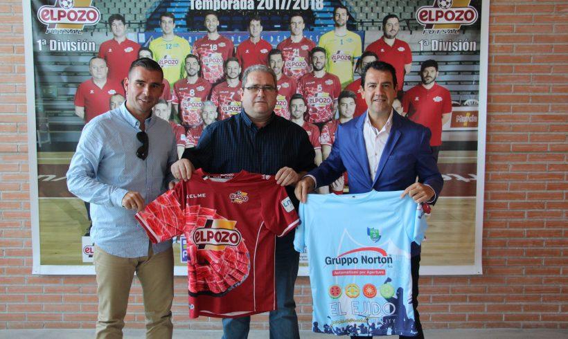 Club Asociado  El Club Deportivo El Ejido 2012 y ElPozo Murcia FS firman un acuerdo de colaboración para las dos próximas temporadas