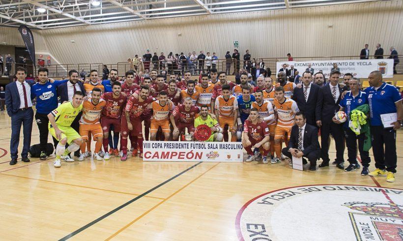 Galería| ElPozo Murcia conquista la VIII Copa Presidente FFRM (Fotos Pascu Méndez)
