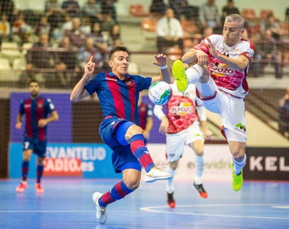 CRÓNICA J° 9 LNFS| ElPozo Murcia FS se reencuentra para lograr la victoria ante Levante (2-3)