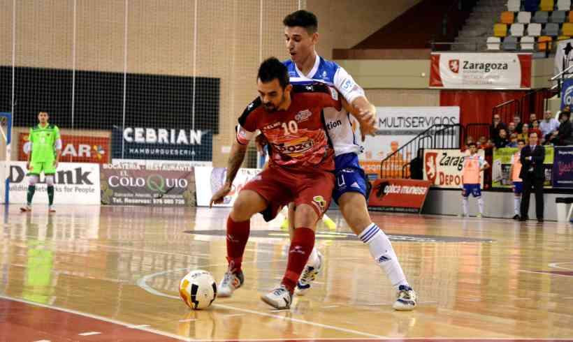 CRÓNICA Jº 12 LNFS  ElPozo Murcia se alza con la victoria en Zaragoza y ya está clasificado para la Copa de España