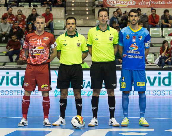 PREVIA Jª 25 LNFS| Peñíscola RehabMedic vs ElPozo Murcia FS ¡A defender el liderato!