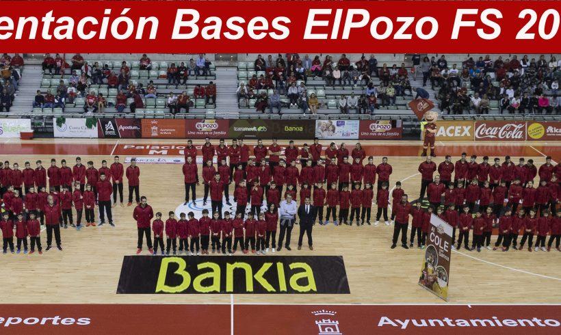 CLUB  Presentación de las Bases ElPozo FS 2018-19