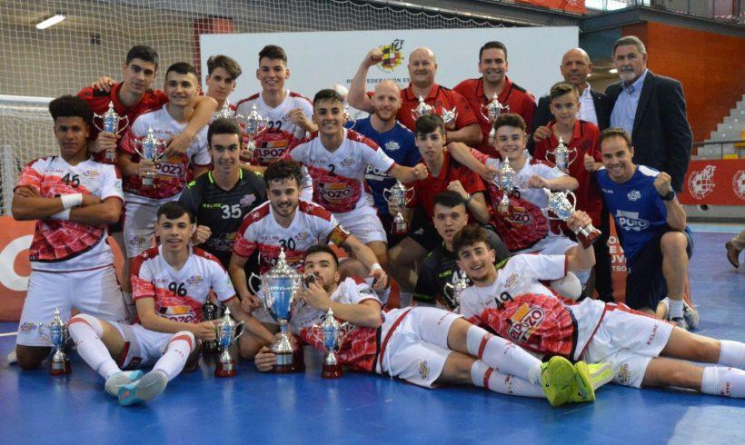 CAMPEONES DE ESPAÑA 2019| Cuatro equipos de las Bases ElPozo FS, reinan en España
