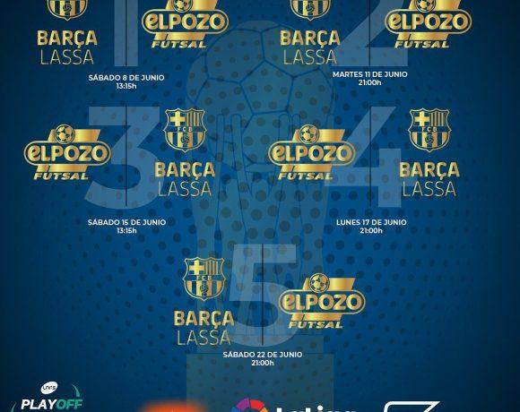 HORARIOS FINAL PLAY OFF Y CAMPEONATOS DE ESPAÑA BASES 2019
