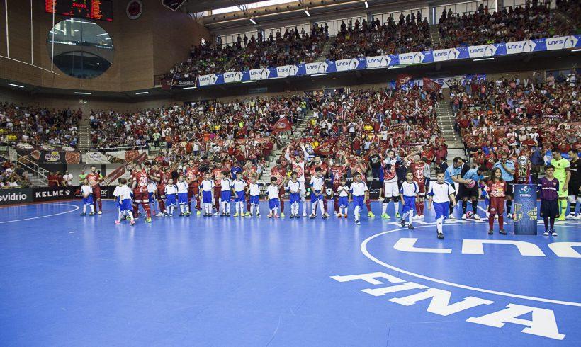5º Partido Final LNFS y Final Four Campeonatos España Bases