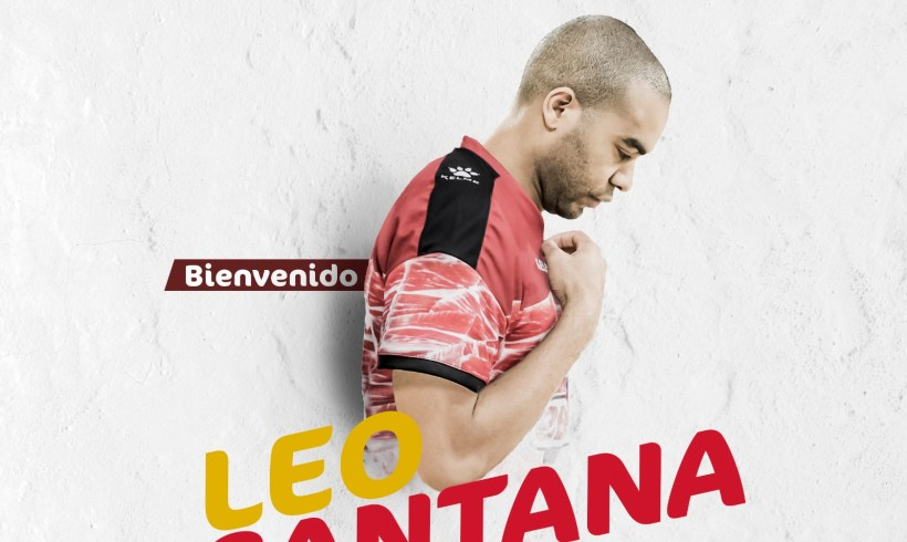 OFICIAL  LEO SANTANA, nuevo guerrero de ElPozo Murcia FS