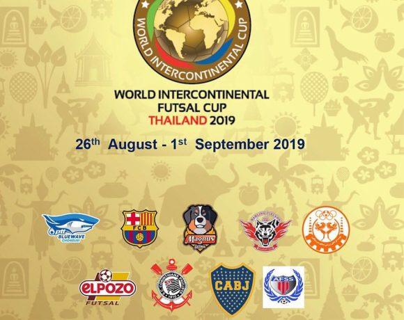 INTERCONTINENTAL| ElPozo Murcia FS disputará la World Intercontinental Futsal Cup en Bangkok del 26 de agosto al 1 de septiembre