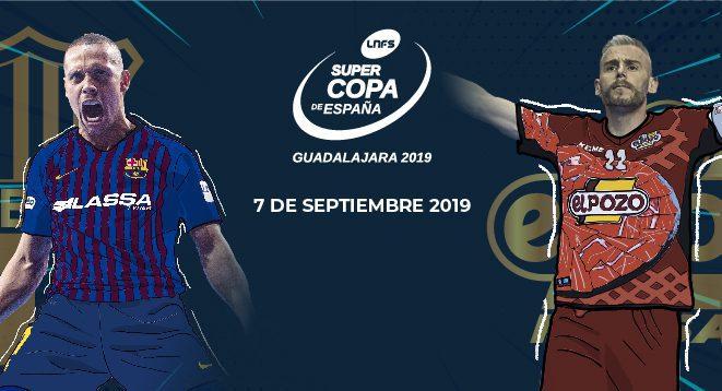 SUPERCOPA DE ESPAÑA 2019| Guadalajara será la sede el sábado 7 de septiembre (20 horas)