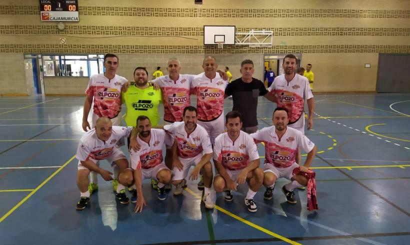 Los Veteranos de ElPozo Murcia FS participan en el V Torneo Leyendas del Futsal del Cabezo de Torres
