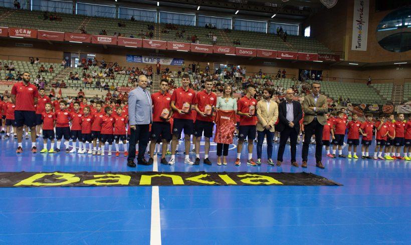 Presentación de las Bases ElPozo FS y homenaje a los cuatro Campeones de Europa con España Sub 19