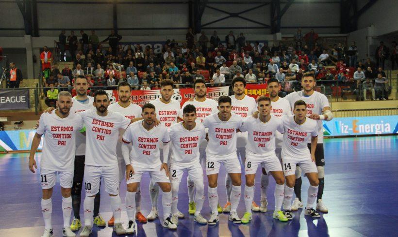 ElPozo Murcia FS gana de forma contundente 5-0 a Berettyóújfalu en su inicio europeo
