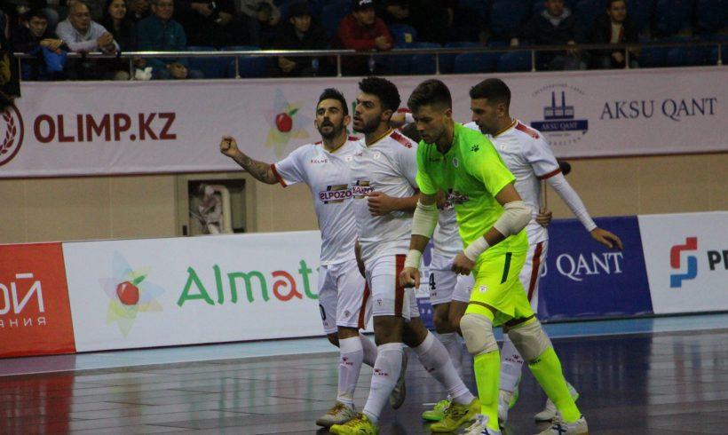 Ronda Élite| ElPozo Murcia da un gran paso al ganar al anfitrión Kairat Almaty 1-4)