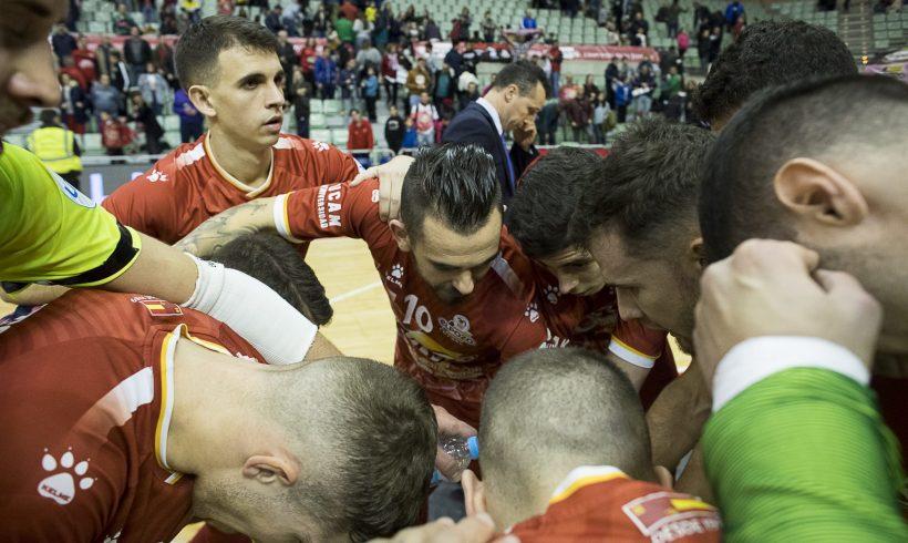 Galería de la victoria de ElPozo Murcia Costa Cálida FS ante Aspil Jumpers 2-1 (Fotos Pascu Méndez)