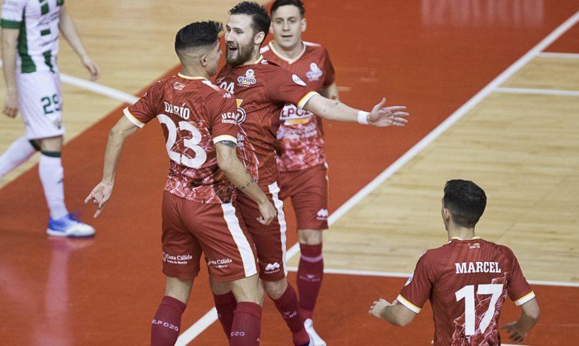 ElPozo Murcia Costa Cálida hace disfrutar a su afición en su regreso al Palacio (5-1)