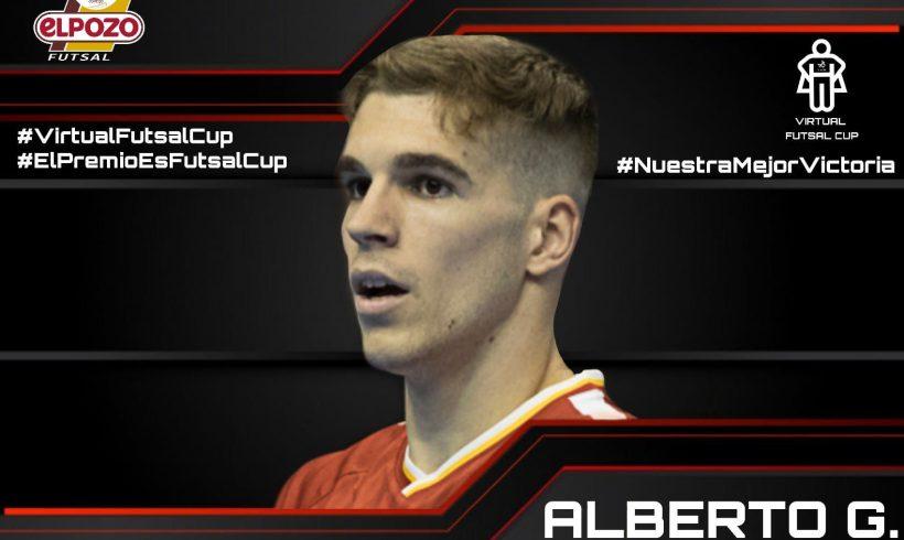 TORNEO VIRTUAL FUTSAL CUP| Alberto García representará a ElPozo Murcia Costa Cálida