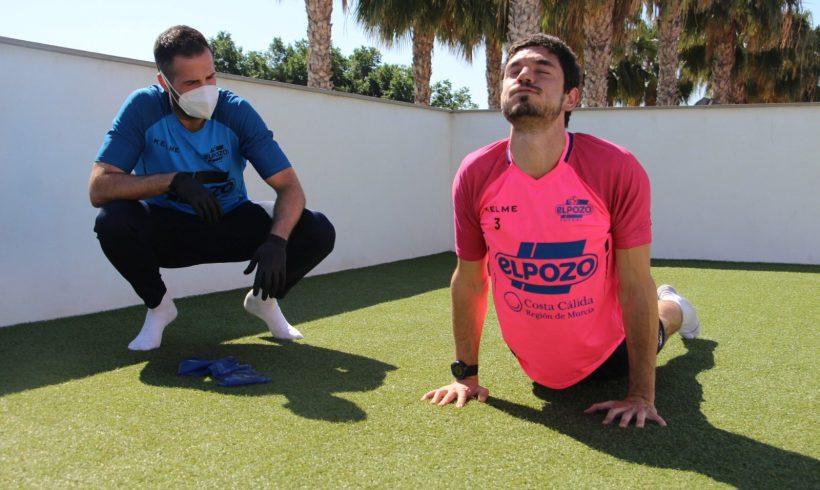 La plantilla de ElPozo Murcia Costa Cálida vuelve a los entrenamientos de forma individual y al aire libre
