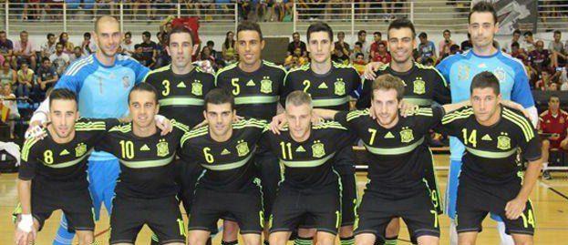 José Ruiz, Miguelín, Raúl Campos y Adri, con España para disputar un cuadrangular amistoso en Macedonia