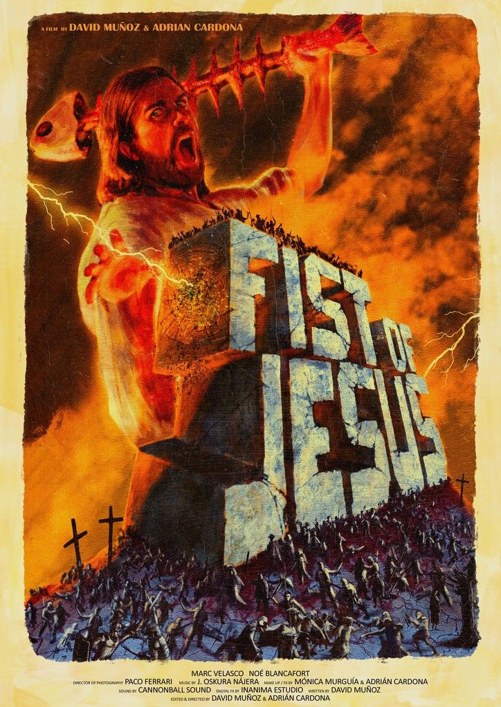 Fist of Jesus (Adrián Cardona, David Muñoz)