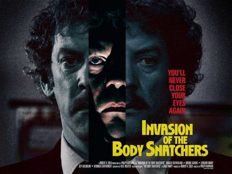 Invasion of the Body Snatchers (Silver Ferox Design)